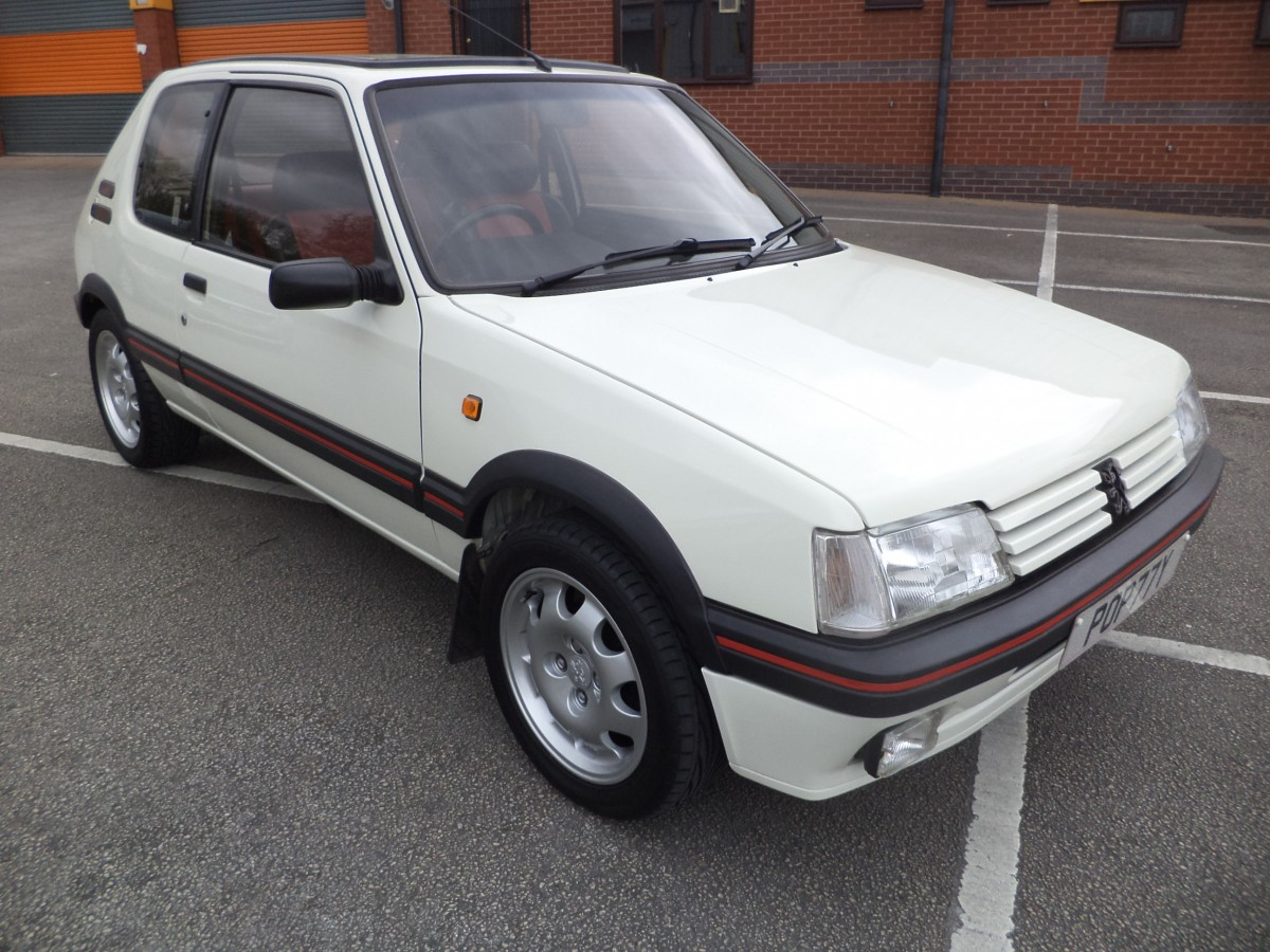 peugeot 205 gti 1 9 colectors car p o a car sales cannock. Black Bedroom Furniture Sets. Home Design Ideas